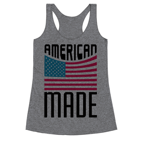 American Made Racerback Tank Top