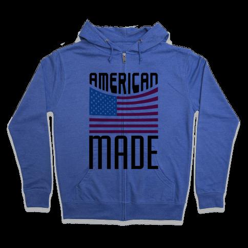 American Made Zip Hoodie