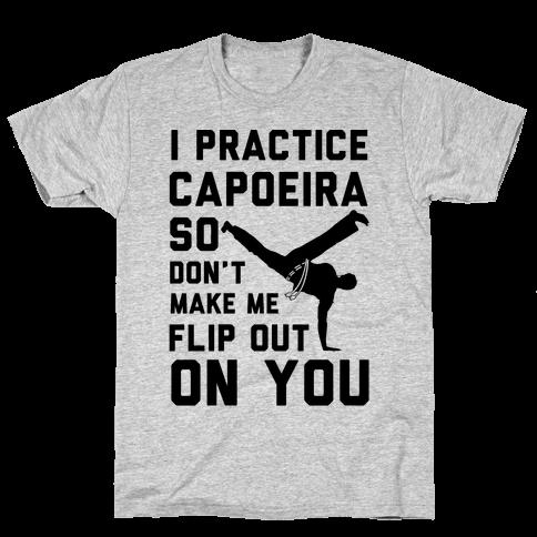 I Practice Capoeira Mens T-Shirt