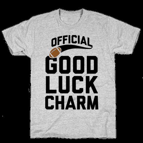 Football Good Luck Charm Mens T-Shirt