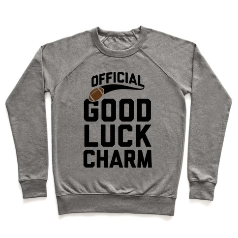 Football Good Luck Charm Pullover