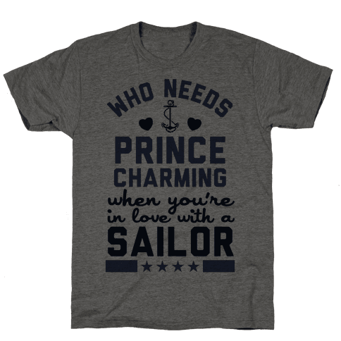 In Love with a Sailor (Navy T-Shirt)