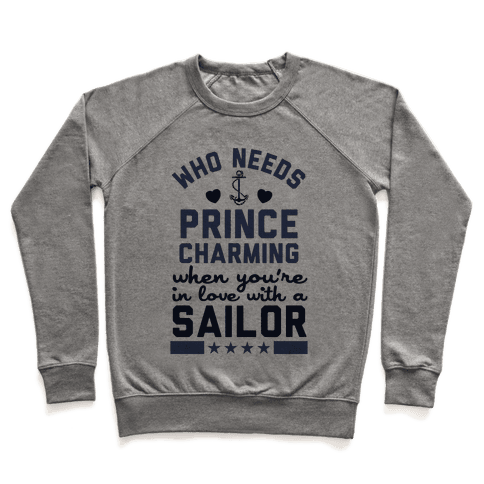In Love with a Sailor (Navy T-Shirt) Pullover