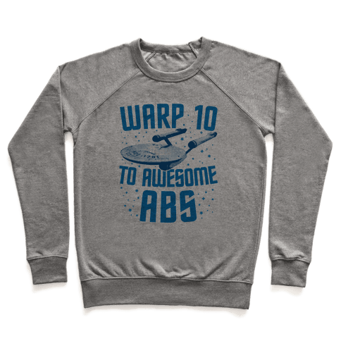 Warp 10 To Awesome Abs Pullover