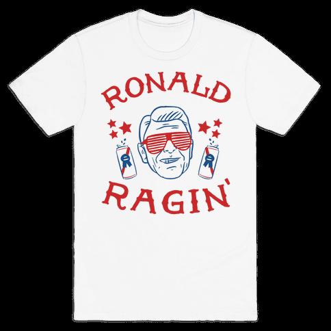 Human Ragin 39 Reagan Clothing Tee