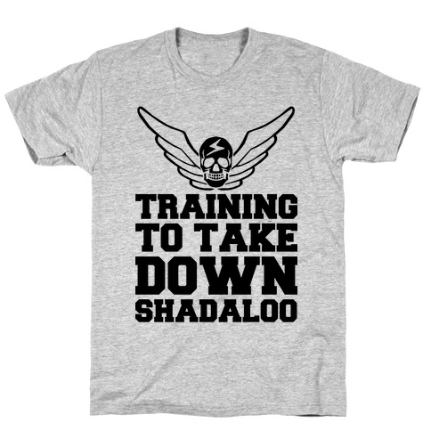 Training To Take Down Shadaloo T-Shirt