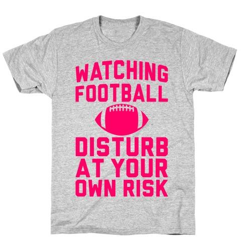 Watching Football Mens/Unisex T-Shirt