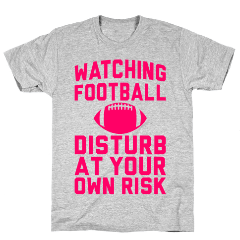 Watching Football Mens T-Shirt