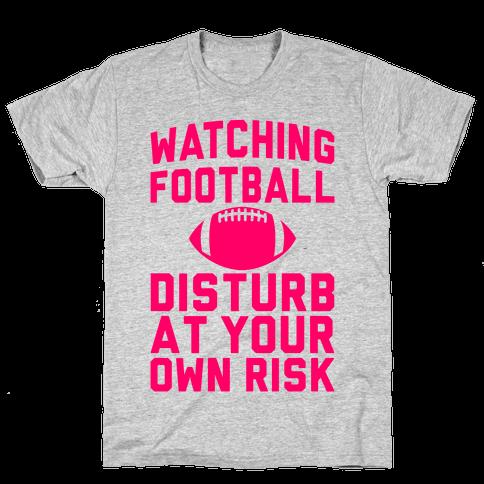 Watching Football Mens T-Shirt