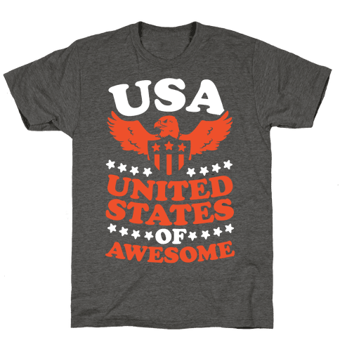 United States of Awesome (Patriotic T-Shirt)