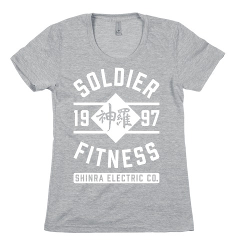 Soldier Fitness Womens T-Shirt