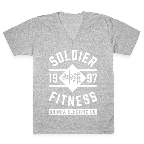 Soldier Fitness V-Neck Tee Shirt