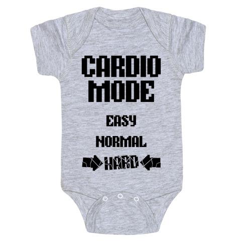 Cardio Mode: HARD Baby Onesy