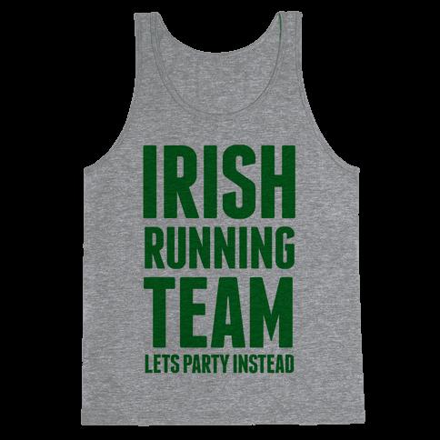 Irish Running Team Tank Top