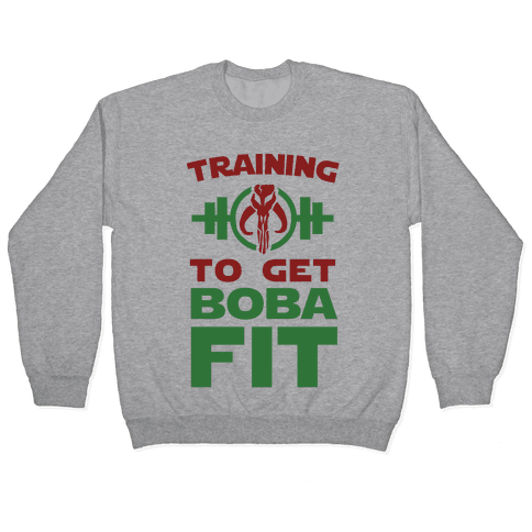 Training to Get Boba Fit Pullover
