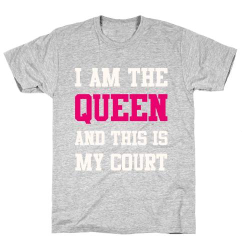 This Is My Court Mens T-Shirt