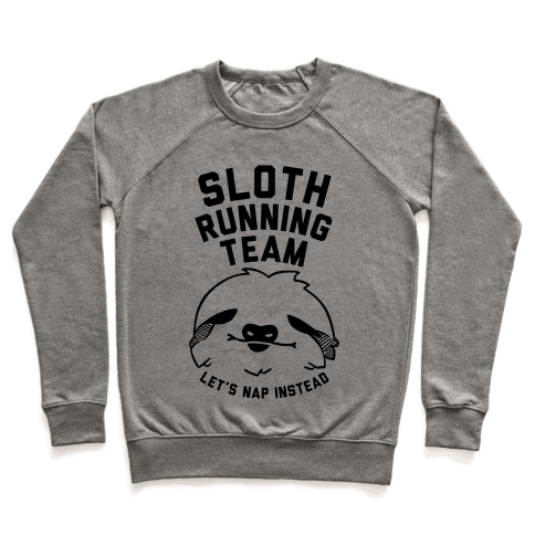 Sloth Running Team Pullover