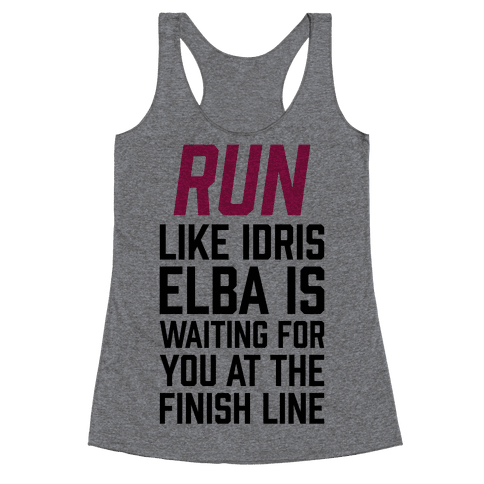 Run Like Idris Elba Is At The Finish Line