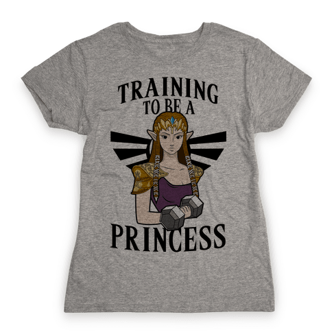 Training To Be A Princess Womens T-Shirt