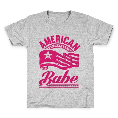 American Babe (Patriotic Tank) Kids T-Shirt