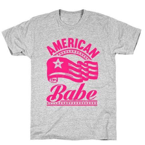 American Babe (Patriotic Tank) T-Shirt