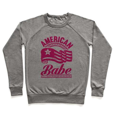 American Babe (Patriotic Tank) Pullover