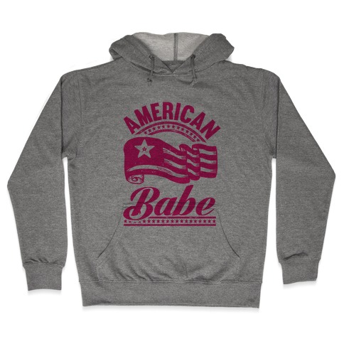 American Babe (Patriotic Tank) Hooded Sweatshirt