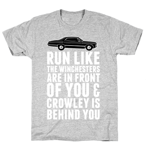 Run Like The Winchesters Mens T-Shirt