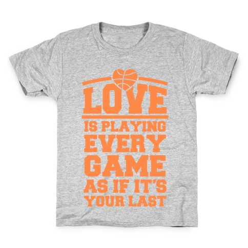 Love Every Game Kids T-Shirt