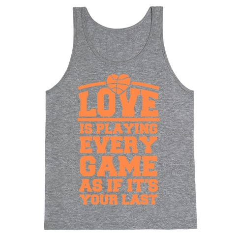 Love Every Game Tank Top