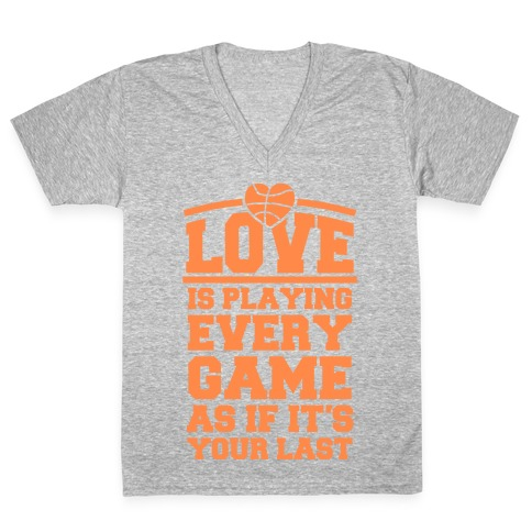 Love Every Game V-Neck Tee Shirt