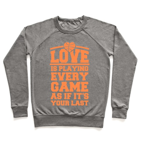 Love Every Game Pullover