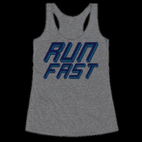 Run FAST Racerback Tank Top