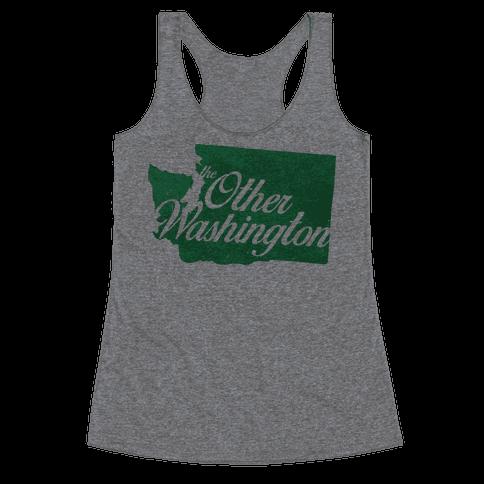 The Other Washington Racerback Tank Top