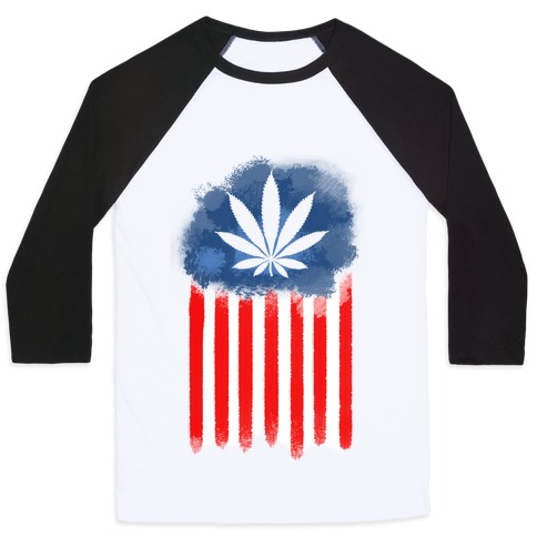 In Weed We Trust (Political) Baseball Tee