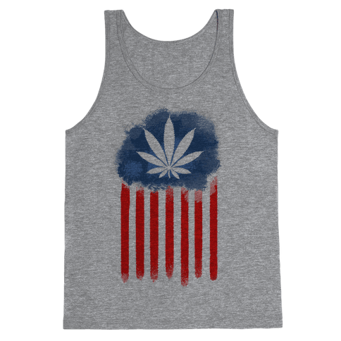 In Weed We Trust (Political) Tank Top