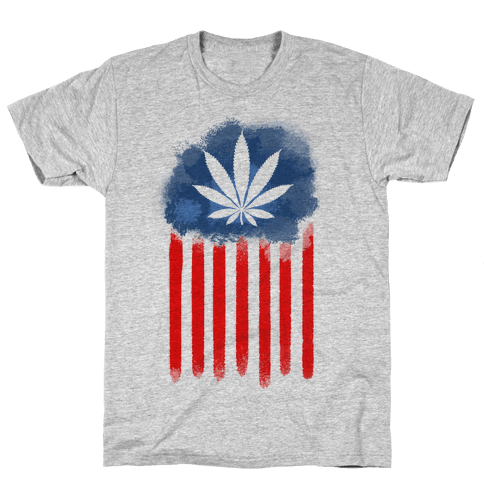 In Weed We Trust (Political) Mens T-Shirt