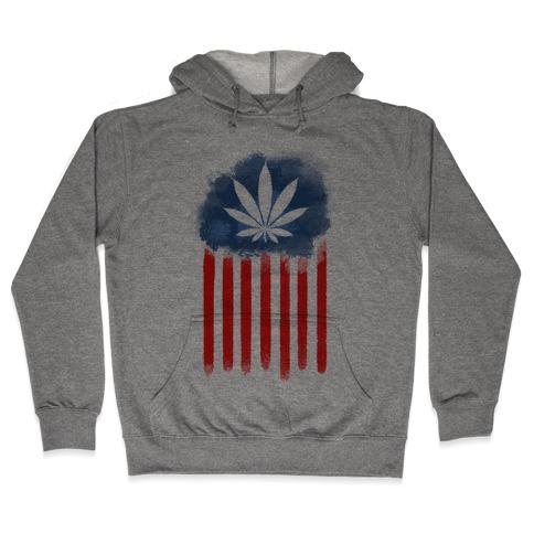 In Weed We Trust (Political) Hooded Sweatshirt