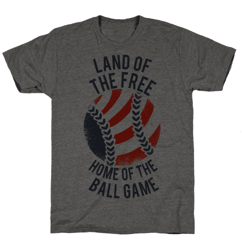 Land of the Free Home of the Ball Game (Vintage)