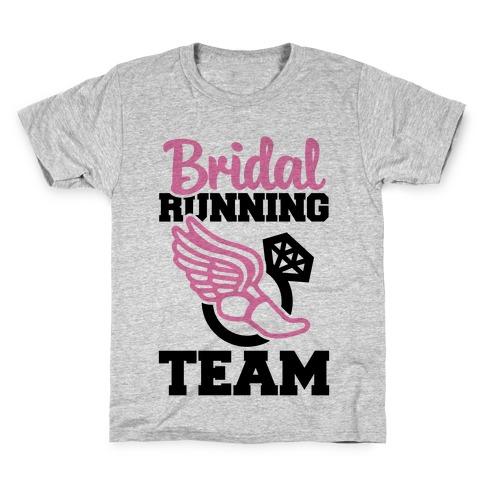 Bridal Running Team Kids T-Shirt