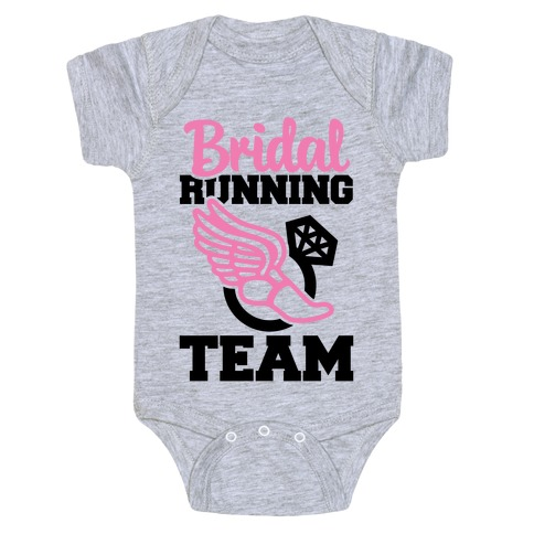 Bridal Running Team Baby Onesy