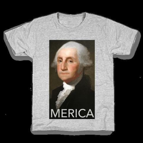 Washington's Merica Kids T-Shirt