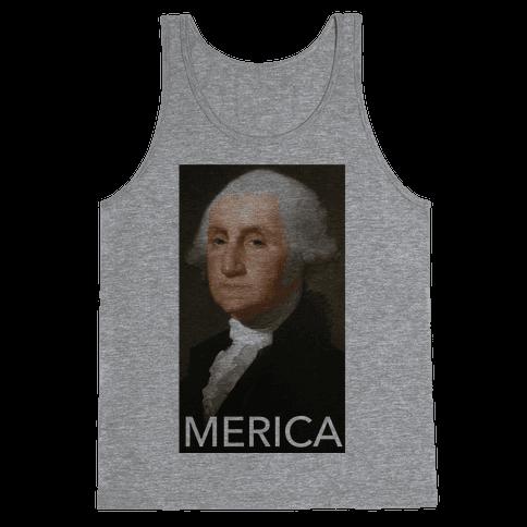 Washington's Merica Tank Top