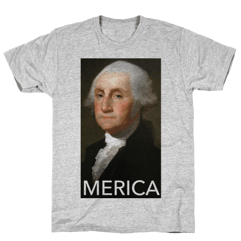 Washington's Merica Mens T-Shirt