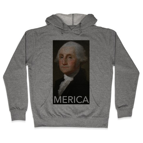 Washington's Merica Hooded Sweatshirt