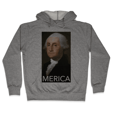 Washington's Merica Hooded Sweatshirt