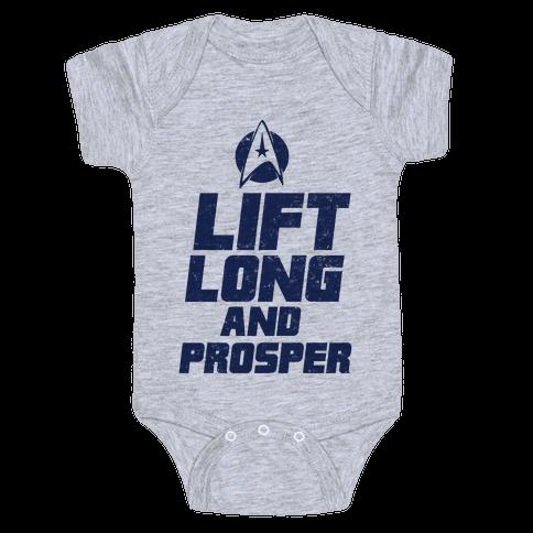 Lift Long and Prosper Baby Onesy