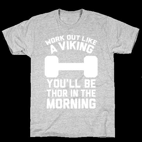 Work Out Like A Viking
