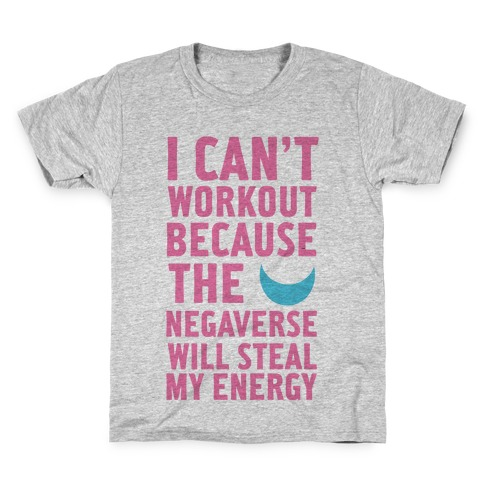The Negaverse Will Steal My Energy Kids T-Shirt