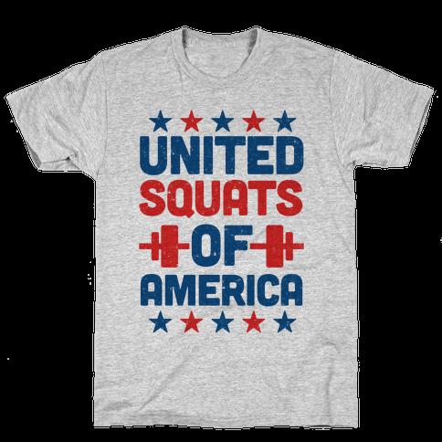United Squats of America Mens T-Shirt